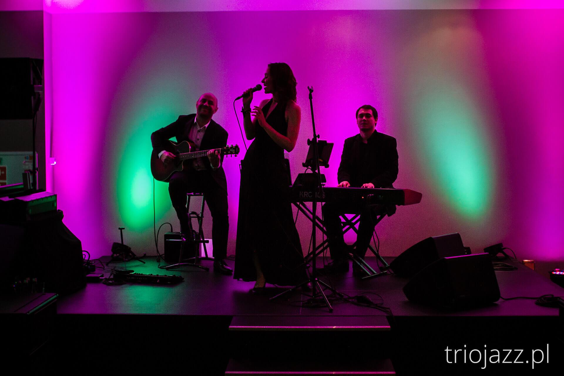 Zespół jazzowy Trio JAZZaneiro - bankiet