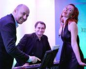zespół jazzowy Trio JAZZaneiro - uroczysta kolacja